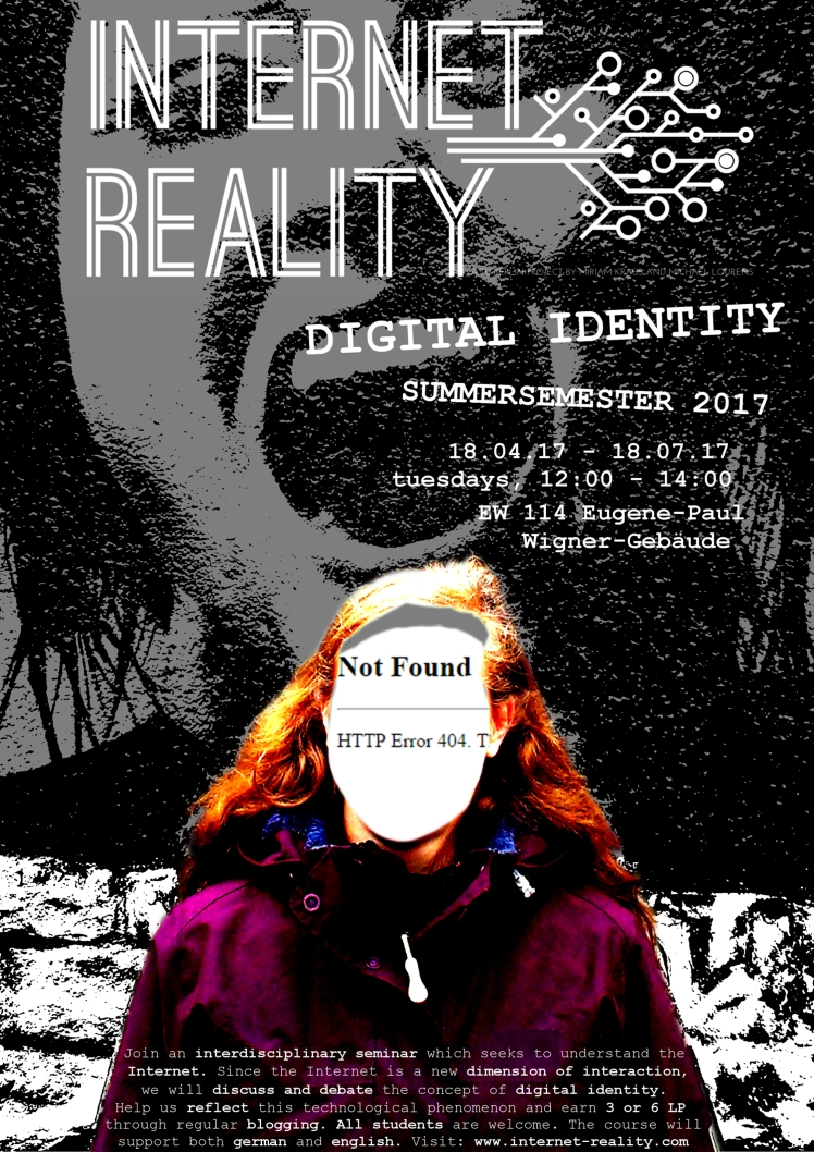 Internet Reality Digital Identity Poster